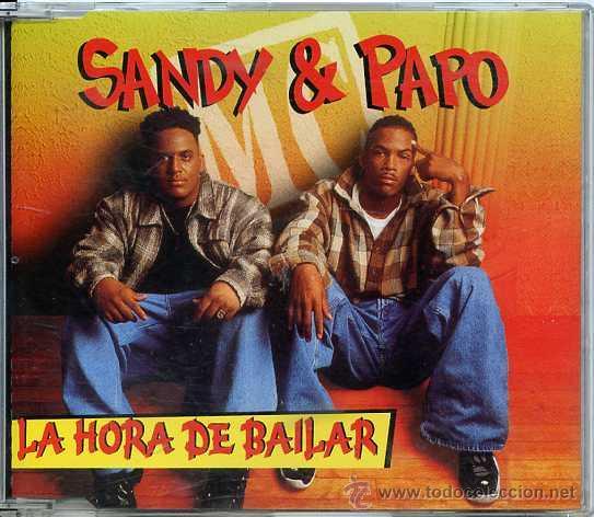 SANDY & PAPO / LA HORA DE BAILAR (CD SINGLE 1996) (Música - CD's Latina)