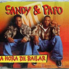 CDs de Musique: SANDY & PAPO / LA HORA DE BAILAR (CD SINGLE 1996). Lote 9947758