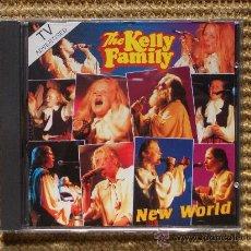 CDs de Música: KELLY FAMILY NEW WORLD. (DESCATALOGADO) (NUEVO). Lote 27225085