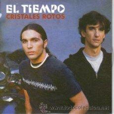 CDs de Música: EL TIEMPO-CRISTALES ROTOS CDSINGLE 2003 PROMOCIONAL. Lote 10332168