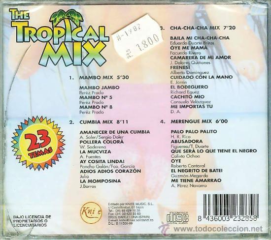 CDs de Música: CD TROPICAL MIX - Foto 2 - 26586162