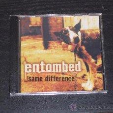 CDs de Música: ENTOMBED - SAME DIFFERENCE - THREEMAN RECORDINGS 1998. Lote 10408679