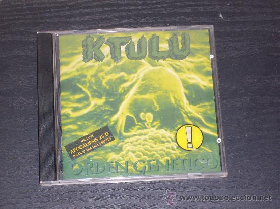 KTULU - ORDEN GENETICO - DRO EAST WEST 1996 (Música - CD's Heavy Metal)