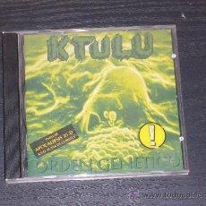 CDs de Música: KTULU - ORDEN GENETICO - DRO EAST WEST 1996. Lote 18484450