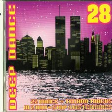 CDs de Música: DOBLE CD DEEP DANCE - THE HIT MIX & THE TECHNO TRANCE MIX. Lote 18664728