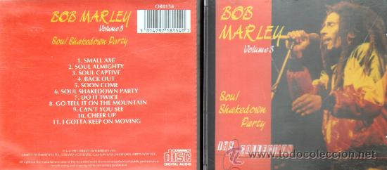 BOB MARLEY. THE COLLECTION. VOLUME 3: SOUL SHAKEDOWN PARTY (CD-SOLEXT-024) (Música - CD's Reggae)