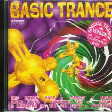 CDs de Música: CD BASIC TRANCE. Lote 18664730