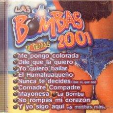 CDs de Música: LAS BOMBAS 2001 -- CDS. Lote 13795898