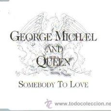 CDs de Música: GEORGE MICHAEL AND QUEEN-SOMEBODY TO LOVE CDSINGLE 1993 (U.E.). Lote 10768492
