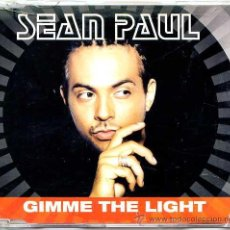 CDs de Música: SEAN PAUL / GIMME THE LIGHT (2 VERSIONES) (CD SINGLE 2002). Lote 11006339