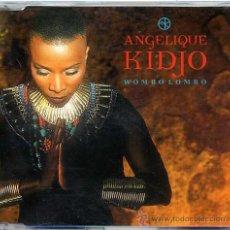 CDs de Música: ANGELIQUE KIDJO / WOMBO LOMBO (3 VERSIONES) (CD SINGLE 1996). Lote 11185024