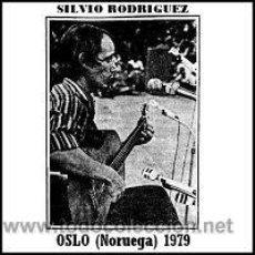 CDs de Música: SILVIO RODRIGUEZ - RECITAL EN OSLO (NORUEGA, 1979). Lote 213404870