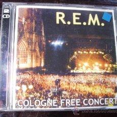 CDs de Música: CD.. DOBLE. REM - COLOGNE FREE CONCERT. Lote 25658895
