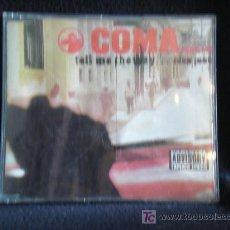 CDs de Música: COMA. TELL ME THE WAHY..ADVISORY. Lote 11646186