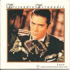 CDs de Música: ALEJANDRO FERNANDEZ / LOCO (CD SINGLE 1999). Lote 11659159