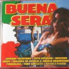 CDs de Música: BUENA SERA -CD NUEVO MUSICA ITALIANA IMPORTACION . Lote 19076677