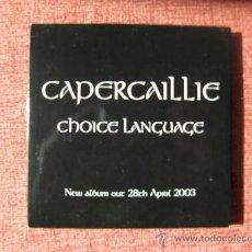 CDs de Música: CHOICE LANGUAGE / CAPERCAILLIE. Lote 26765050