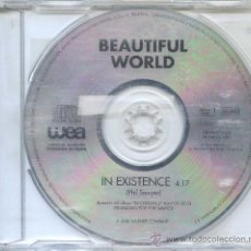 CDs de Música: BEAUTIFUL WORLD / IN EXISTENCE (CD SINGLE 1994). Lote 11929822