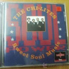 CDs de Música: CD.. THE CHI LITES - SWEFT SOUL MUSIC (PRECINTADO). Lote 27139786