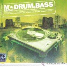 CDs de Música: DRUM & BASS - 3 CD - MASTERCUTS - PRECINTADO !!! LO MEJOR. Lote 27511524
