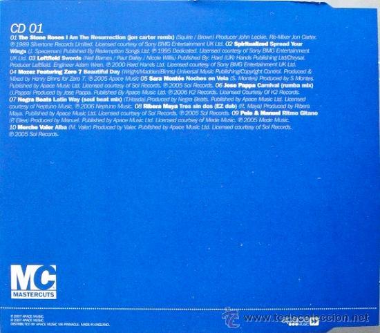 CDs de Música: IBIZA CHILL * 3 CD * Mastercuts * PRECINTADO !!! - Foto 4 - 26440742