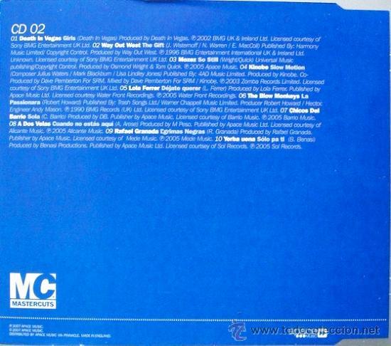 CDs de Música: IBIZA CHILL * 3 CD * Mastercuts * PRECINTADO !!! - Foto 6 - 26440742