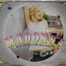 CDs de Música: MADONNA - WHAT IT FEELS LIKE FOR A GIRL -PROMO CDSINGLE. Lote 21088019