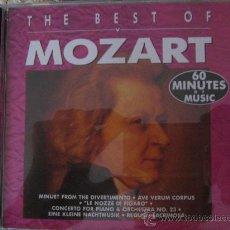 CDs de Música: MOZART. Lote 12227178