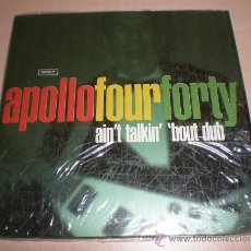 CDs de Música: APOLLO FOUR FORTY - AIN´T TALKIN´`BOUT YOU (SINGLE) [CHEMICAL BROTHERS,PRODIGY]. Lote 58336849