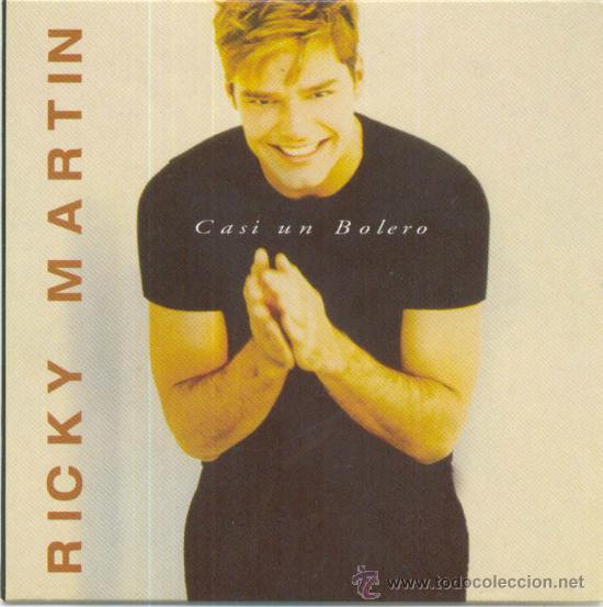 RICKY MARTIN. CASI UN BOLERO (CD-SINGLE PROMOCIONAL 1998) (Música - CD's Pop)