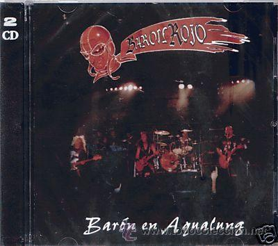 CD BARON ROJO BARON ROJO EN AQUALUNG SPANISH HEAVY METAL (Música - CD's Heavy Metal)