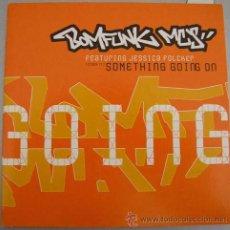 CDs de Música: BOMFUNK MC´S - GOING - CDSINGLE. Lote 12332020