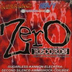 CDs de Música: SUGARLESS / KANNON / ELECKTRA / SECOND SILENCE / AMIMISHOCK, ETC - ZERO RECORDS - CD PROMO. Lote 12364578