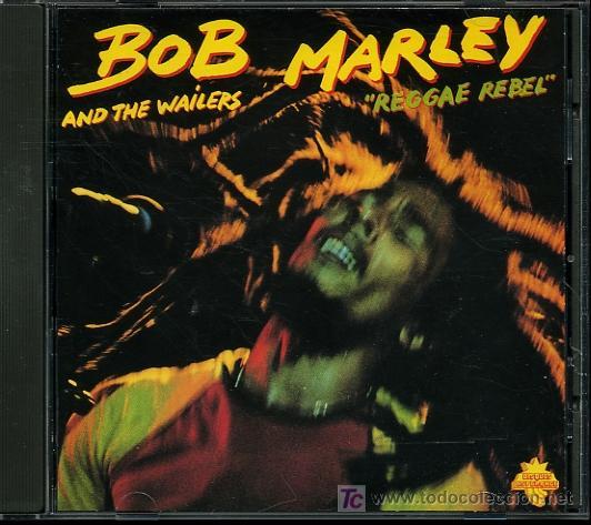 BOB MARLEY AND THE WAILERS - REGGAE REBEL - CD 1990 (Música - CD's Reggae)