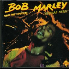 CDs de Música: BOB MARLEY AND THE WAILERS - REGGAE REBEL - CD 1990. Lote 21765386