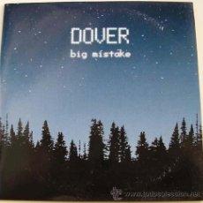 CDs de Música: DOVER - BIG MISTAKE - CDSINGLE. Lote 12402703