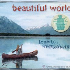 CDs de Música: BEAUTIFUL WORLD / LOVE IS EVERYTHING (2 VERSIONES) (CD SINGLE 1996). Lote 12516031