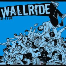 CDs de Música: WALLRIDE JUST 4 FUN CD NUEVO DIGIPAK HARDCORE. Lote 12530964