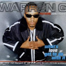CDs de Música: WARREN G / WHAT´S LOVE GOT TO DO WITH IT (FT. ADINA HOWARD) (3 VERSIONES) (CD SINGLE 1996). Lote 12661972
