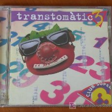 CDs de Música: TRANSTOMÀTIC. CD AMB CANÇONS DEL CLUB SUPER 3. ED. 1999. Lote 23885172
