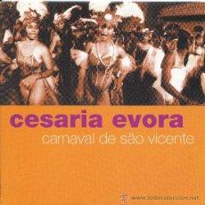 CDs de Música: CESARIA EVORA / CARNAVAL DE SAO VICENTE - CABO VERDE MANDA MANTENHA (CD SINGLE 1999). Lote 13011526