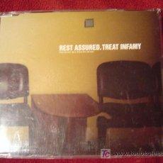 CDs de Música: REST ASSURED - TREAT INFAMY 1998 CD SINGLE 5 TEMAS. Lote 26734962