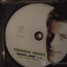 CDs de Musique: ENRIQUE ANAUT - MARIA JOSE (OPERACION TRIUNFO 2º EDICION). Lote 278443493