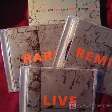 CDs de Música: RED HOT CHILLI PEPPERS - LIVE RARE REMIX BOX 3-CD. Lote 27275705
