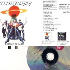 CDs de Música: MONSTER MAGNET: MONOLITHIC BABY. Lote 19200329