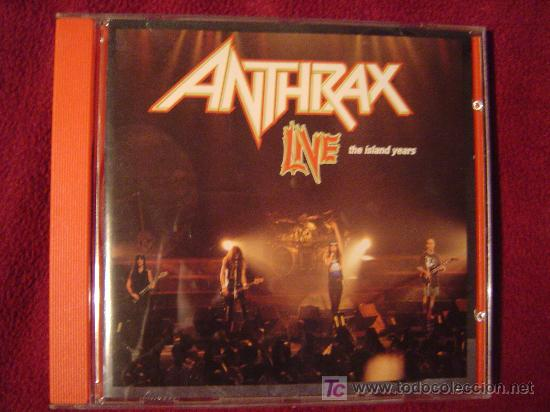 ANTHRAX - LIVE THE ISLAND YEARS 1994 (Música - CD's Heavy Metal)