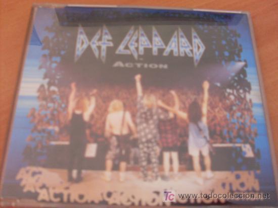 DEF LEPPARD ( ACTION ) CD SINGLE 3 TRACKS (Música - CD's Heavy Metal)