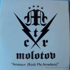 CDs de Música: MOLOTOV. AMATEUR (ROCK ME AMADEUS) (CD-SINGLE UNIVERSAL 2004). Lote 13155137