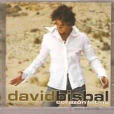CDs de Música: CD DAVID BISBAL - CORAZON LATINO . Lote 39314904