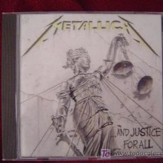 CDs de Música: METALLICA - ...AND JUSTICE FOR ALL 1988. Lote 25635876